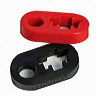 Brida para barra de Hi-Lift Rojo o Negro (Handle Keeper)