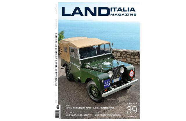 Defender Sahara 4x4 en LAND Italia Magazine Agosto 2017