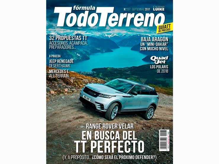 Nota de prensa en la Revista Fórmula TodoTerreno