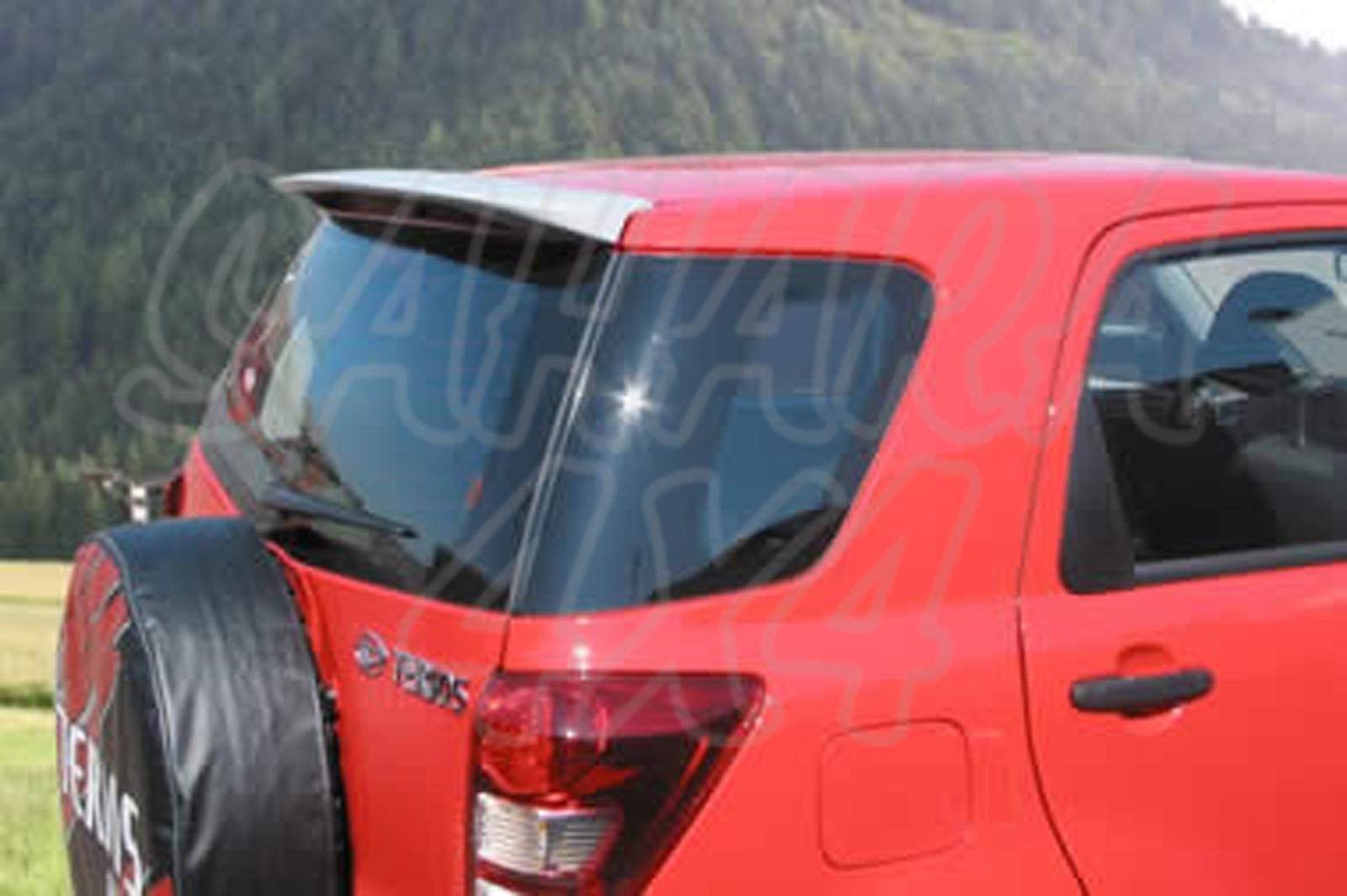 Spoiler unpainted for Daihatsu Terios 2006- -