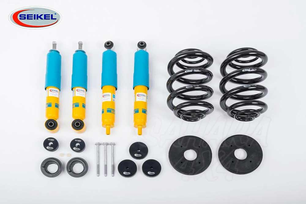Seikel Lift kit +30 mm with Bilstein Shocks for VW T4