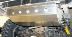 Protector deposito Toyota LJ/KZJ 70 - Fabricado en aluminio 8 mm