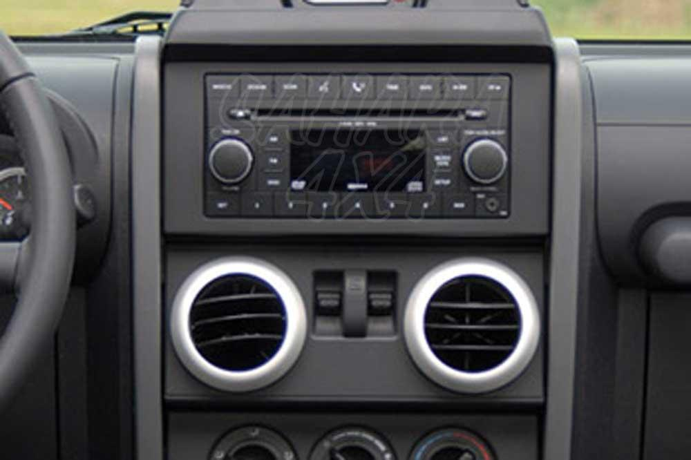 Ring Dashboard 4-pieces Jeep Wrangler JK