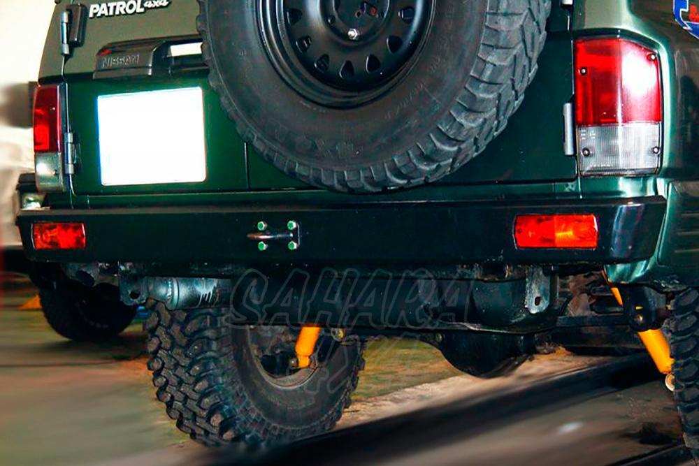 Rear bumper with holes lights AFN for Nissan Patrol GR Y60