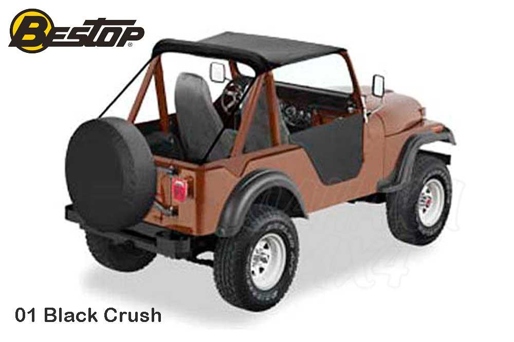 Traditional bikini Bestop for Jeep CJ - Select the color and year