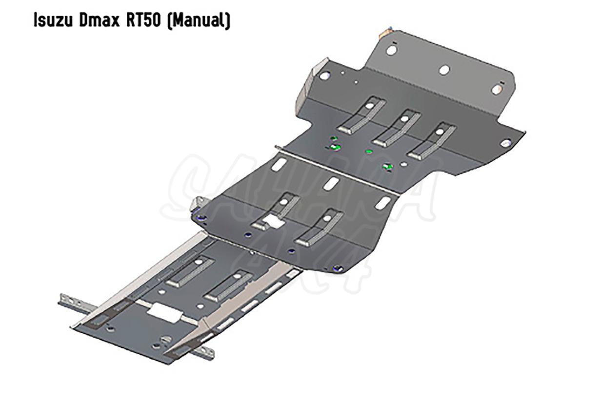 Arb Skid Plates 3mm Isuzu D Max 2012 Dmax Fuse Box Share To
