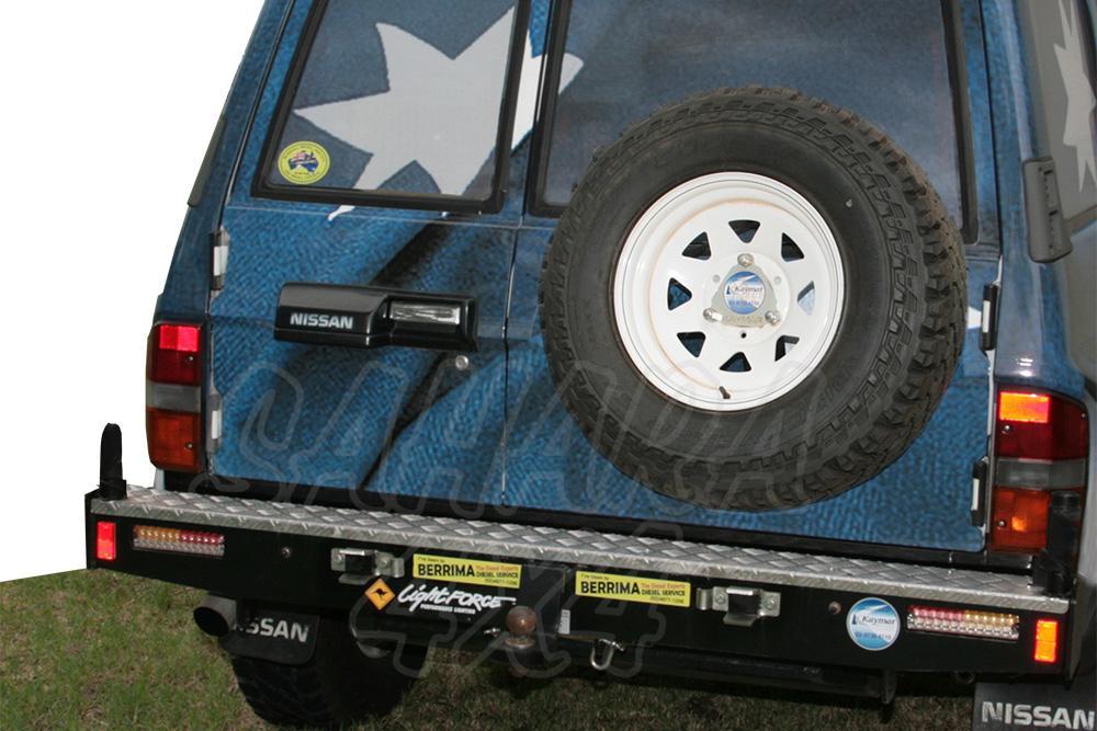 Kaymar rear bumper Nissan Patrol GR Y60