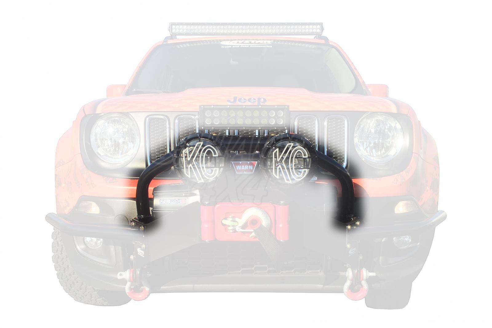 Front winch bumper light bar mount daystar jeep renegade front winch bumper light bar mount daystar jeep renegade for winch mount mozeypictures Choice Image