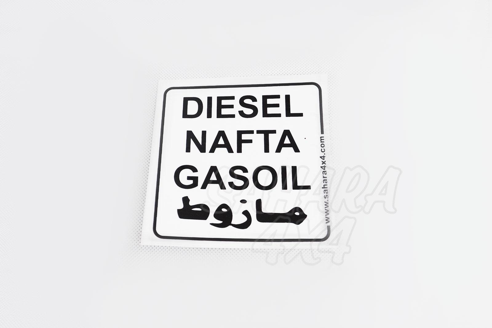 Diesel Sticker Sahara 4x4