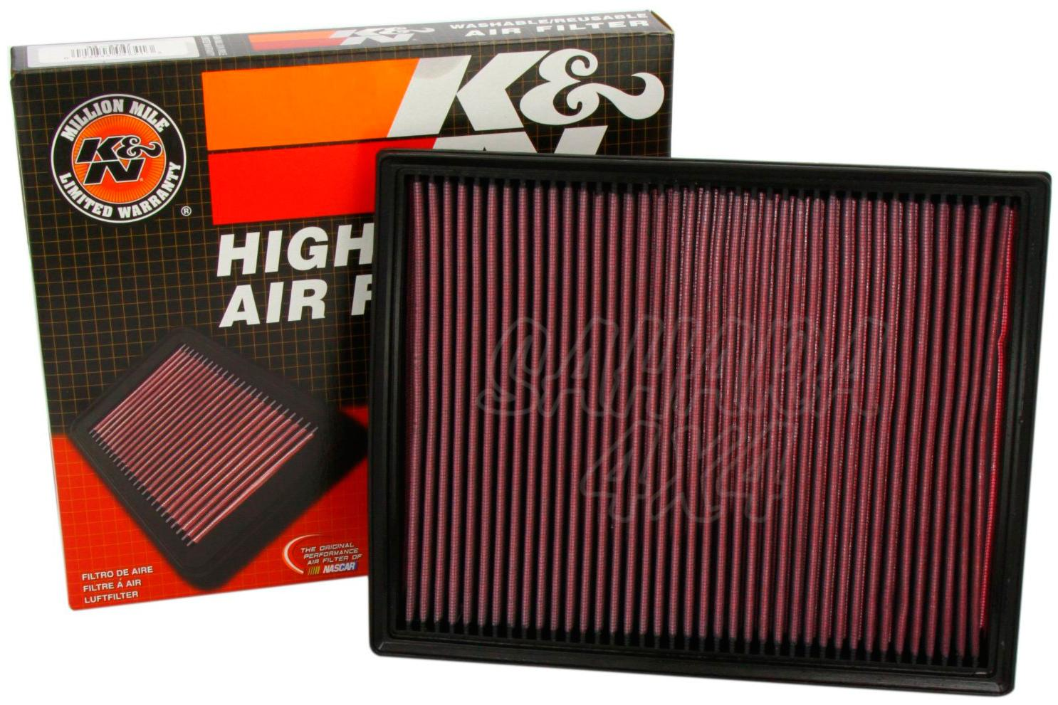 K/&N 33-2231 Performance Replacement Drop-In Air Filter