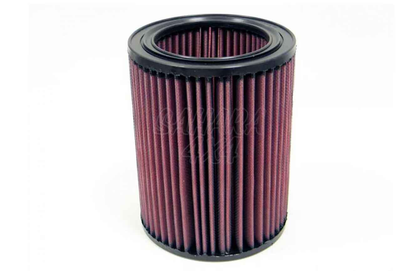 Replacement air filter K&N Isuzu Trooper 3 0 Diesel 2000-2007