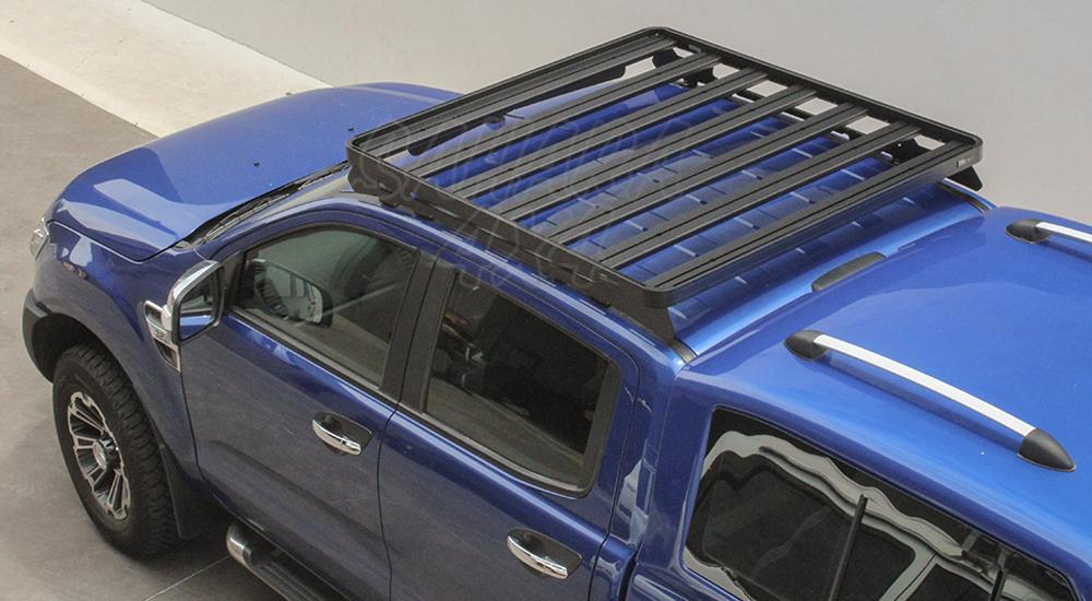 Roof Rack Ford Ranger T6 Rail Mount Rack 1255 W X 1358 L