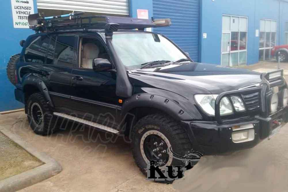 ABS Fender Flares Kit , Toyota Land Cruiser 100 Series   + 55 Mm By Side