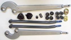 Tirantes delanteros inclinados y traseros reforzados HD - Pareja de Tirantes delanteros y traseros
