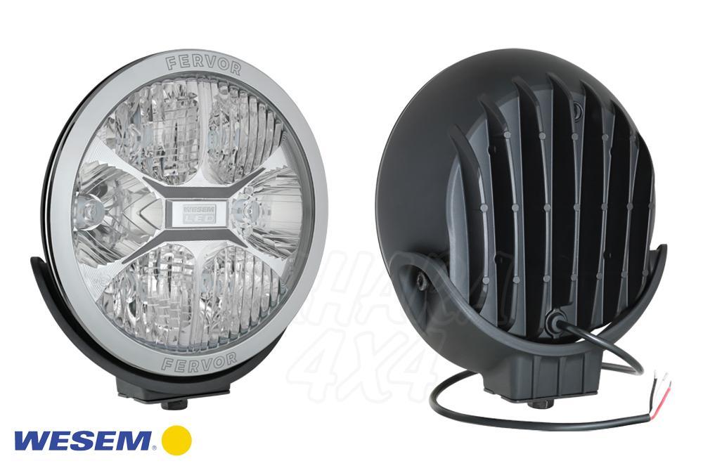 d16cada1fd0 Faro largo alcance Wesem LED CE 22CM - 12/24V 2400LM 25CD - Unidad de