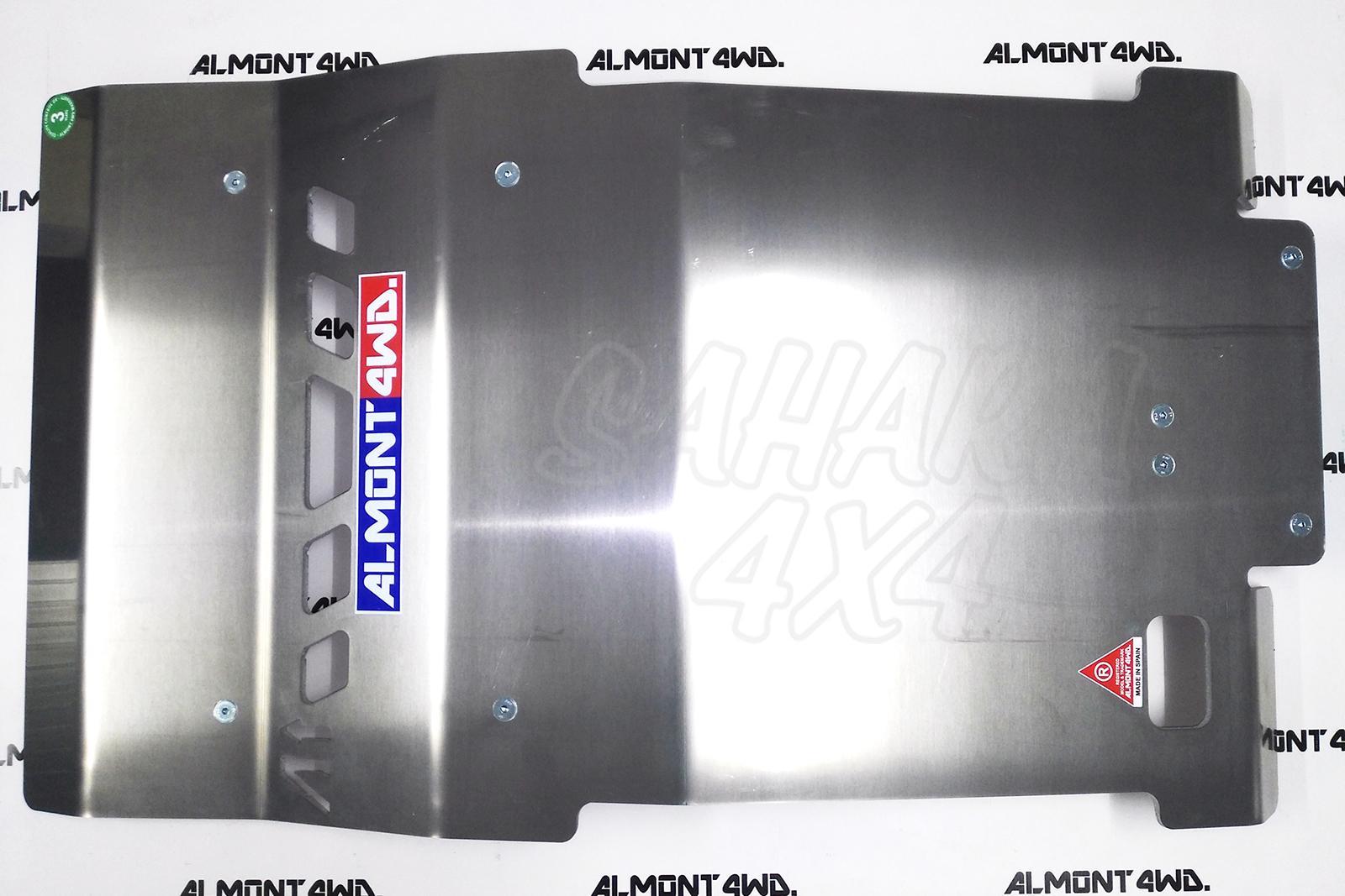 Almont 4wd Skid Plates For Mitsubishi L200 Warrior Fuse Box