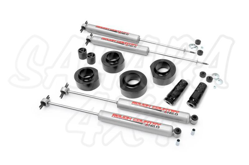 1.5in Jeep Suspension Lift Kit   Rough Country