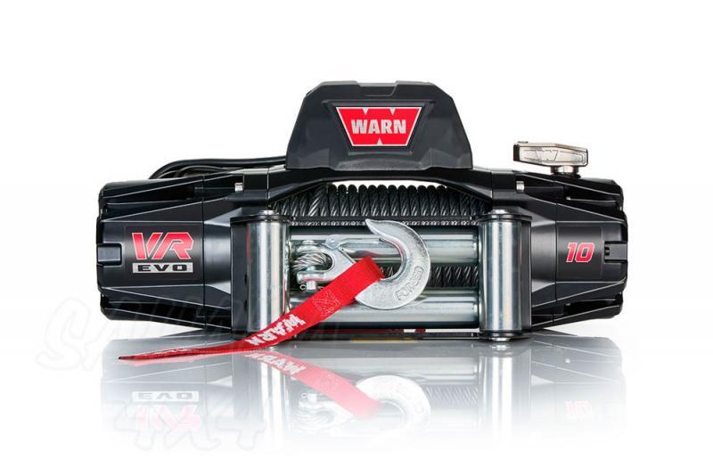 Cabrestante Warn VR EVO 10 12 v , cable de acero