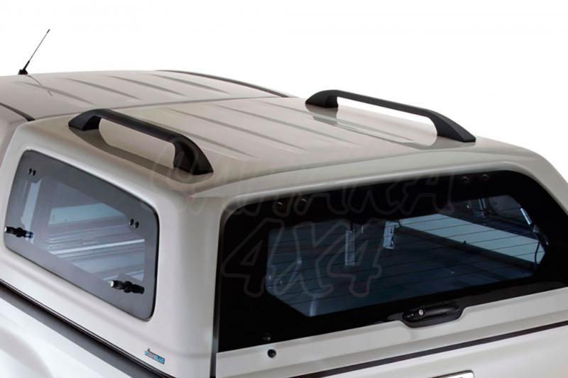 Barras longitudinales opcionales 900mm para Hardtop Aeroklas doble cabina