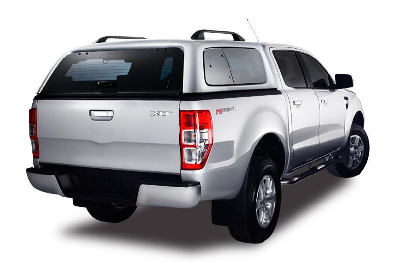 HardTop AEROKLAS en ABS, con ventanas (doble cabina) para Ford Ranger 2012-