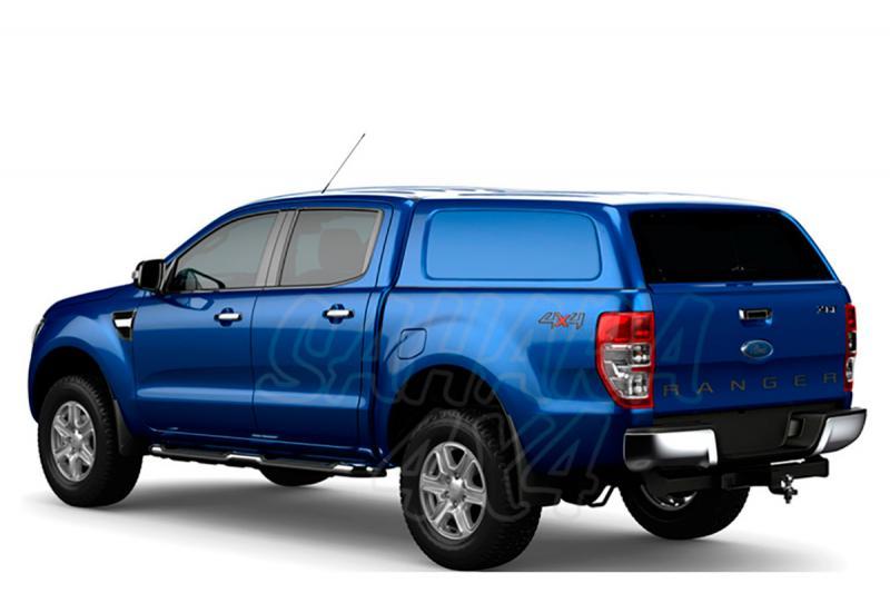 HardTop AEROKLAS en ABS, sin ventanas (extra cabina) para Ford Ranger 2012- -