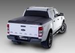 Cubierta plana AEROKLAS en ABS, acabado negro texturizado (doble cabina) para Ford Ranger 2012- -