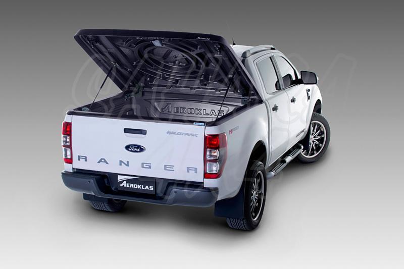 Cubierta plana AEROKLAS en ABS (doble cabina) para Ford Ranger 2012-