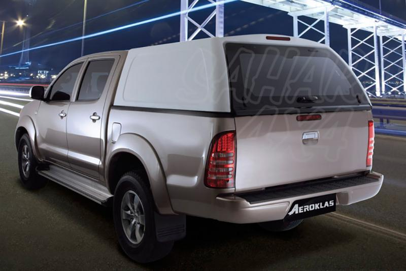 HardTop AEROKLAS en ABS, sin ventanas para Mitsubishi L-200 Triton 2010-2015 - Para Doble cabina