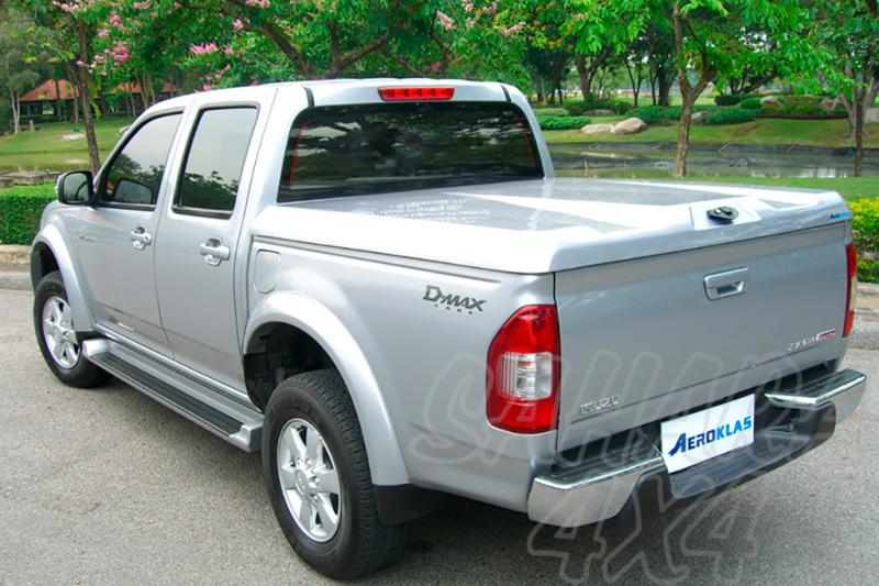 Cubierta plana AEROKLAS en ABS (doble cabina) para Isuzu D-Max/Rodeo 02-12 -