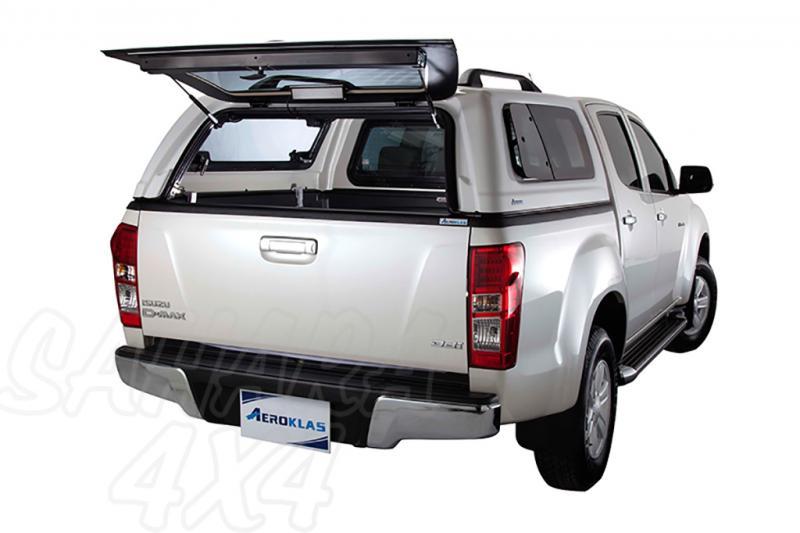 HardTop Aeroklas en ABS, con ventanas (doble cabina) para Isuzu D-Max 2012-