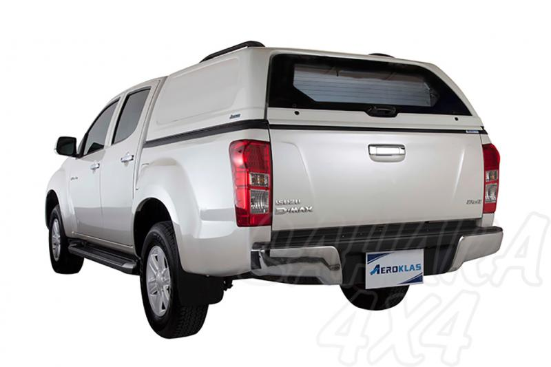 HardTop Aeroklas en ABS, sin ventanas (doble cabina) para Isuzu D-Max 2012- -