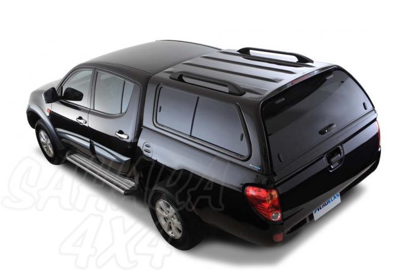 HardTop AEROKLAS en ABS, con ventanas para Mitsubishi L-200 Triton 2010-2015