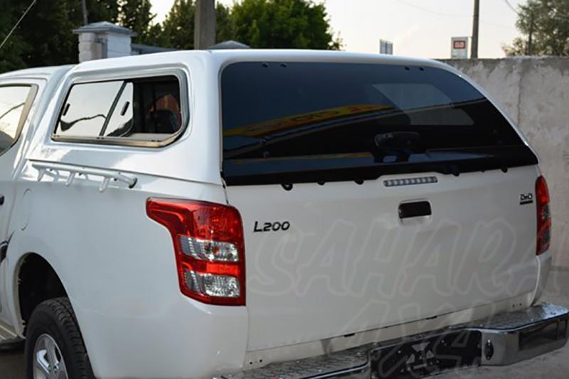 HardTop AEROKLAS en ABS, con ventanas para Mitsubishi L-200 Triton 2015-/Fiat Fullback 2016-