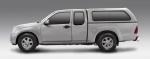 HardTop AEROKLAS en ABS, con ventanas para Ford Ranger/Mazda BT-50 06-12 - Para Extra Cabina