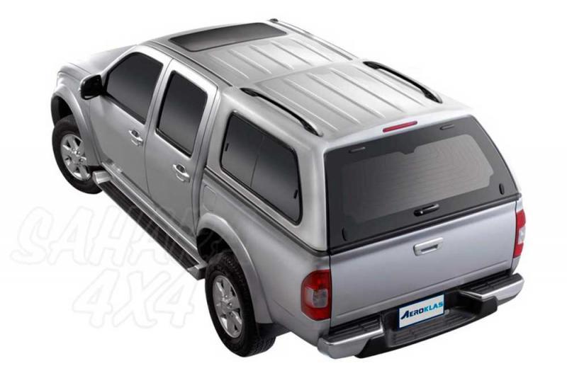 HardTop AEROKLAS en ABS, con ventanas (doble cabina) para Ford Ranger/Mazda BT-50 06-12