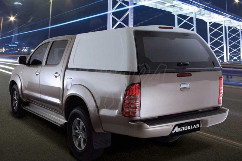 HardTop AEROKLAS en ABS, sin ventanas (doble cabina) para Ford Ranger/Mazda BT-50 06-12 -