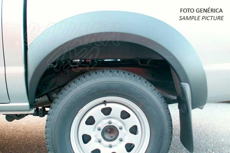 Juego de aletines en ABS (doble cabina) para Mitsubishi L200 1996-2006 - Valido para L-200 1996-2006