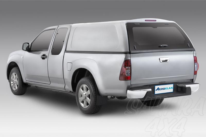 HardTop AEROKLAS en ABS, sin ventanas para Nissan Navara D40 2005-2015 - Para Extra cabina