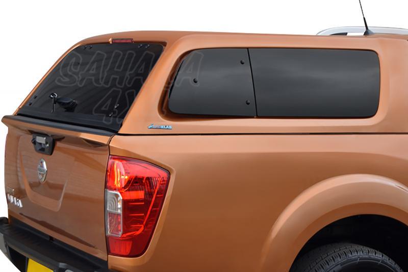 HardTop AEROKLAS en ABS, con ventanas (doble cabina) para Nissan Navara NP300 D23 2016- -