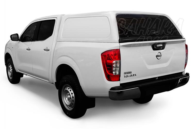 HardTop AEROKLAS en ABS, sin ventanas (doble cabina) para Nissan Navara NP300 D23 2016- -