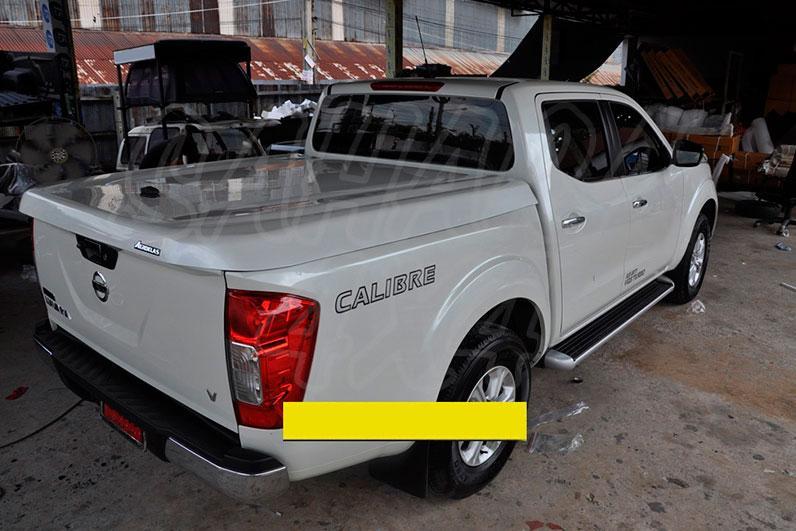 Cubierta plana AEROKLAS en ABS para Nissan Navara D23 - Para Doble cabina