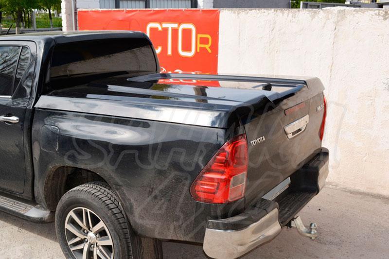 Cubierta plana AEROKLAS en ABS para Toyota Hilux Revo 2016- - Doble cabina