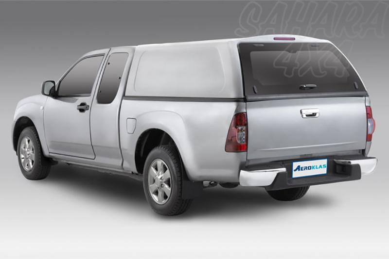 HardTop AEROKLAS en ABS, sin ventanas para Toyota Hilux Vigo 2005-2016 - Para Extra cabina