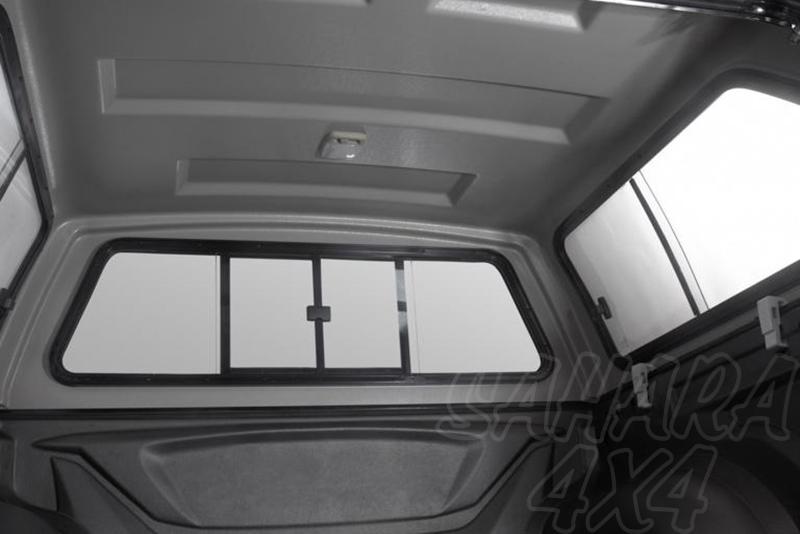 Cubierta plana AEROKLAS en ABS  para Volkswagen Amarok 2010- - Para Doble cabina