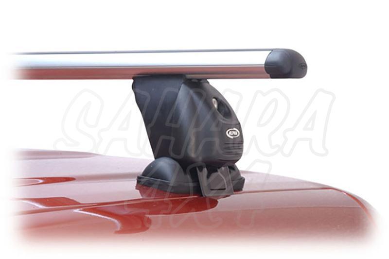 Barras de techo transversales ALPHA para cabina para Ford Ranger/Mazda B-2500 y BT