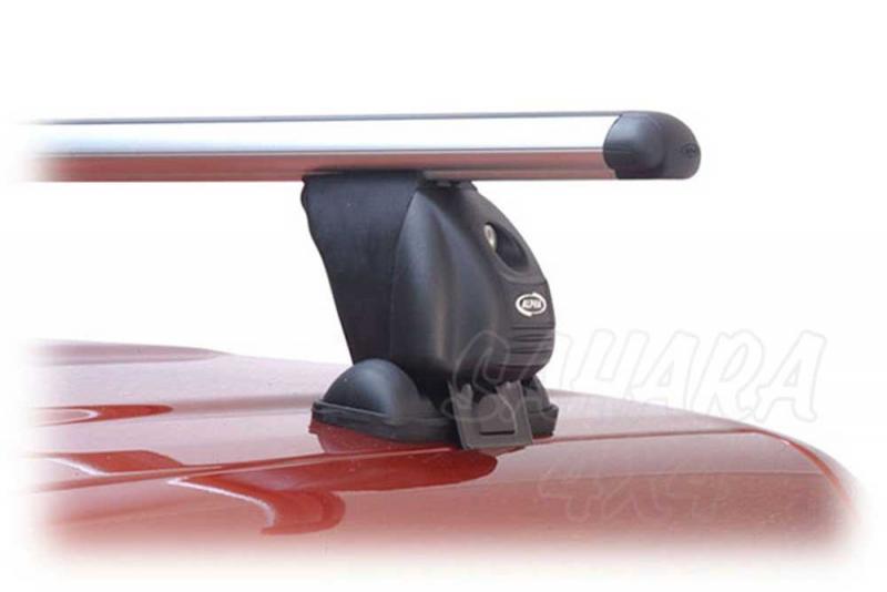Barras de techo transversales ALPHA para cabina para Ford Ranger 2012-