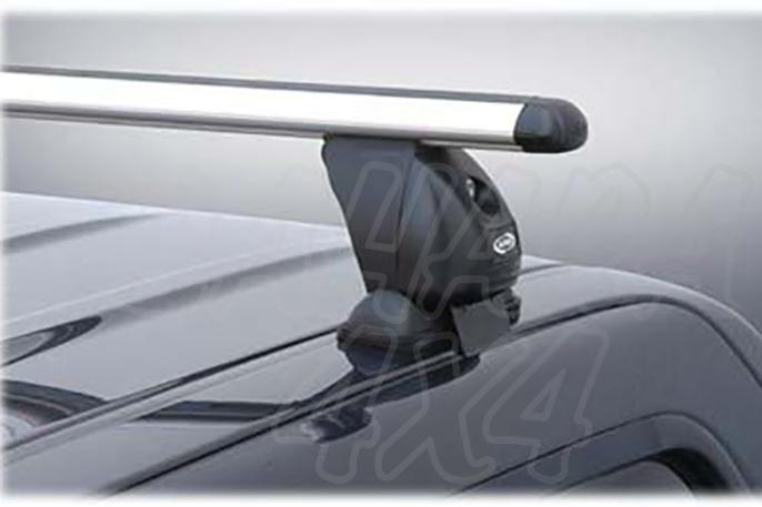 Barras de techo transversales ALPHA para cabina para Isuzu D-Max 2012-