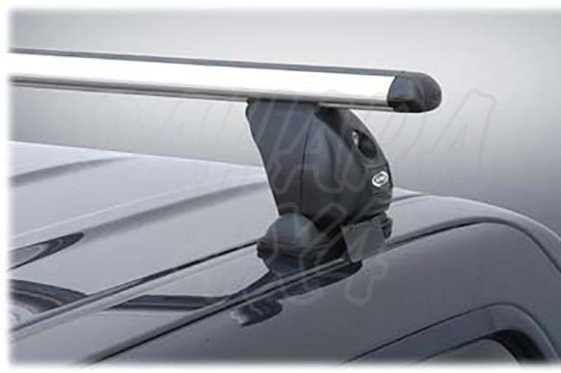 Barras de techo transversales ALPHA para cabina for Mitsubishi L-200 Triton 2006-2015 - Barras de aluminio.