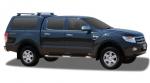 HardTop ALPHA CME en fibra (doble cabina) para Ford Ranger 2012- - HardTop ALPHA CME en fibra, con portones laterales elevables en cristal (doble cabina)