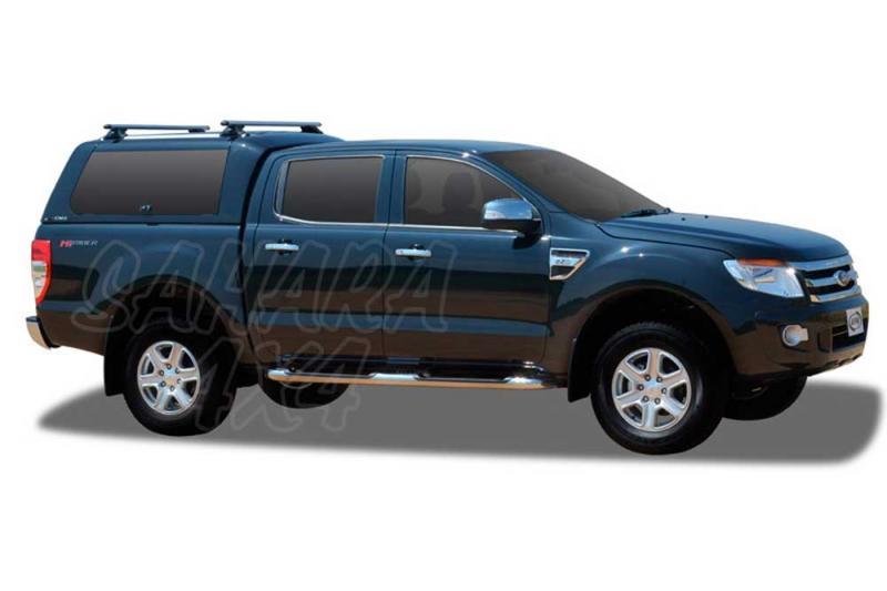 HardTop ALPHA CME en fibra (doble cabina) para Ford Ranger 2012-